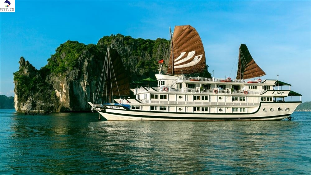 2 DAYS 1 NIGHT ON HALONG BAY WITH BHAYA CRUISE